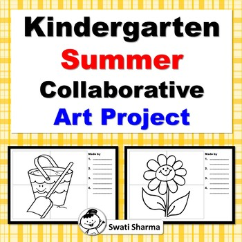 Kindergarten Summer Collaborative Art Project