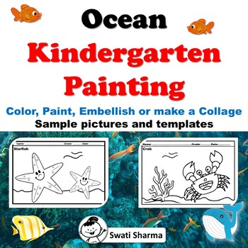 Ocean Kindergarten Painting Art Project