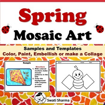 Spring, Garden Mosaic Art Project
