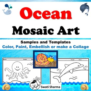 Ocean, Mosaic Art Project
