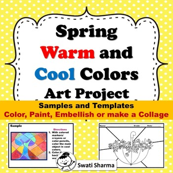 Spring Warm and Cool Colors Art Project