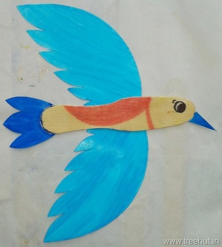 Wooden Spoon Bird Craft