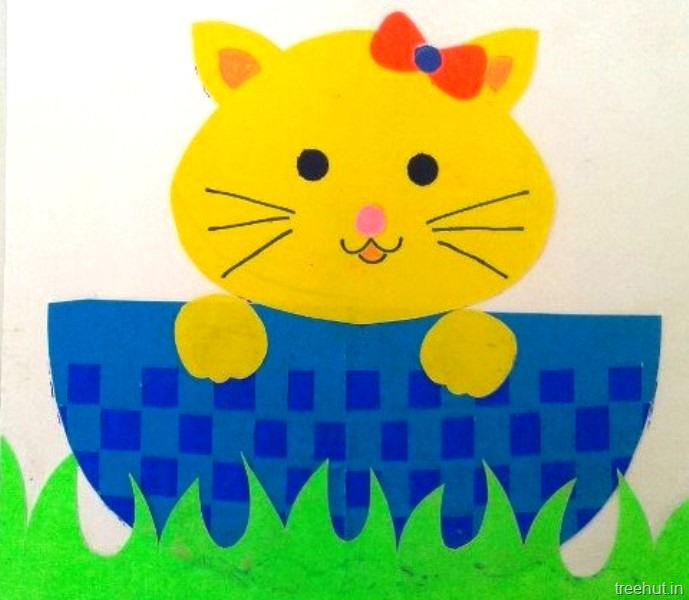 Cat craft for kids for Cat crafts for toddlers