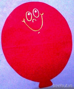 balloon personalised nametags for school kids