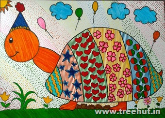 Child art by Arsh Agarwal Lucknow India