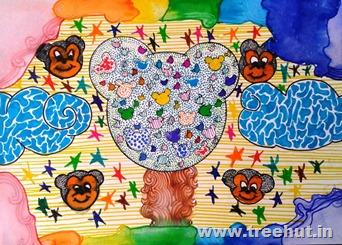 Child art by Bhavya Singh Lucknow India