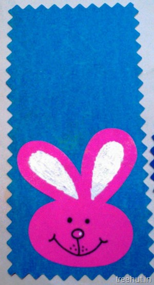 cute bunny name tags for kids