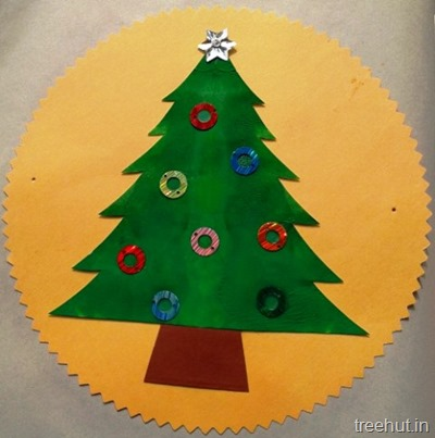 hanging christmas tree ornaments decoration