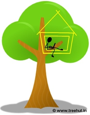 treehut logo design by Anisha and Swati Sharma