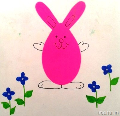 easy easter bunny kids crafts for preschool toddlers