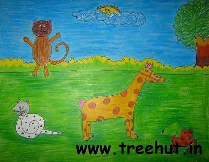 Child art by Avantika Kalra