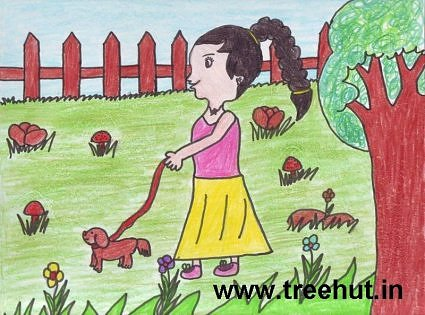 child art by Khushboo Singh Lucknow India