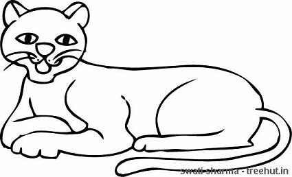 free lioness coloring pages