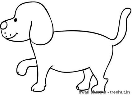 Walking Dogs Coloring Pages