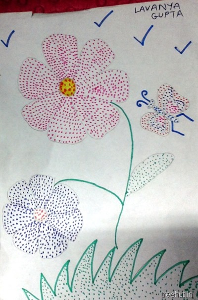 colorful-dot-art by Lavanya Gupta La Martiniere Girls College Lucknow