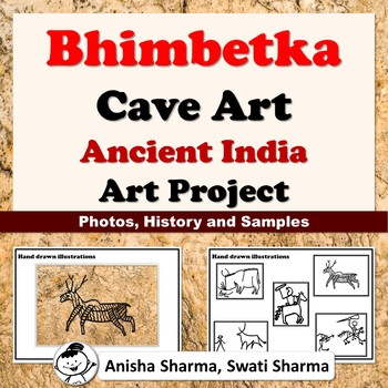Bhimbetka Cave Art Paintings, Art Project from Ancient India