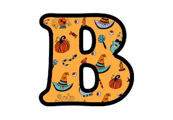 Halloween Letters, Numbers and Symbols, Fall, Halloween, Classroom Decor