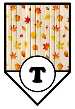 Teamwork Leaves You Smiling, Fall Bulletin Board Sayings Pennant Banner, Decor