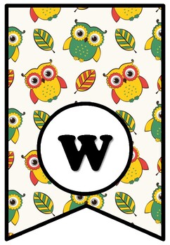 IT IS WISE TO READ, Bulletin Board Sayings Pennant Letters, Owl, Fall Reading