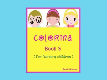 Colorina, Play Group, Kindergarten Painting Book 3