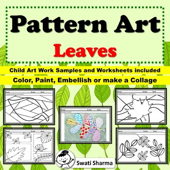 Spring, Fall Art Project Pattern/Pop Art Leaves