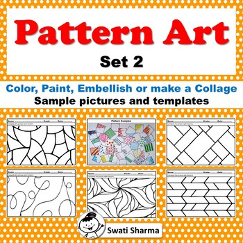Art Project Pattern Art, Pop Art Set 2