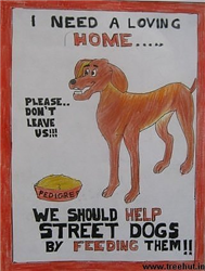 Help Homeless Animals Posters