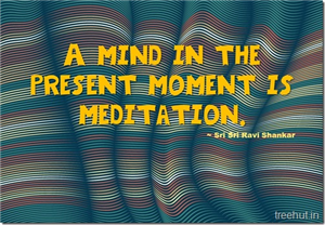 Meditation Quotes by Sri Sri Ravi Shankar, The Art of Living