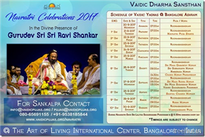 Video-Navratri Celebrations with Gurudev Sri Sri Ravi Shankar