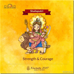 Shailaputri, First Form of Nav Durga , Navratri, The Art of Living