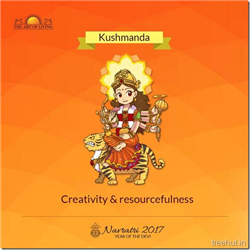 Kushmanda, Fourth Form of Nav Durga , Navratri, The Art of Living