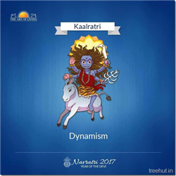 Kaalratri, Seventh Form of Nav Durga , Navratri, The Art of Living